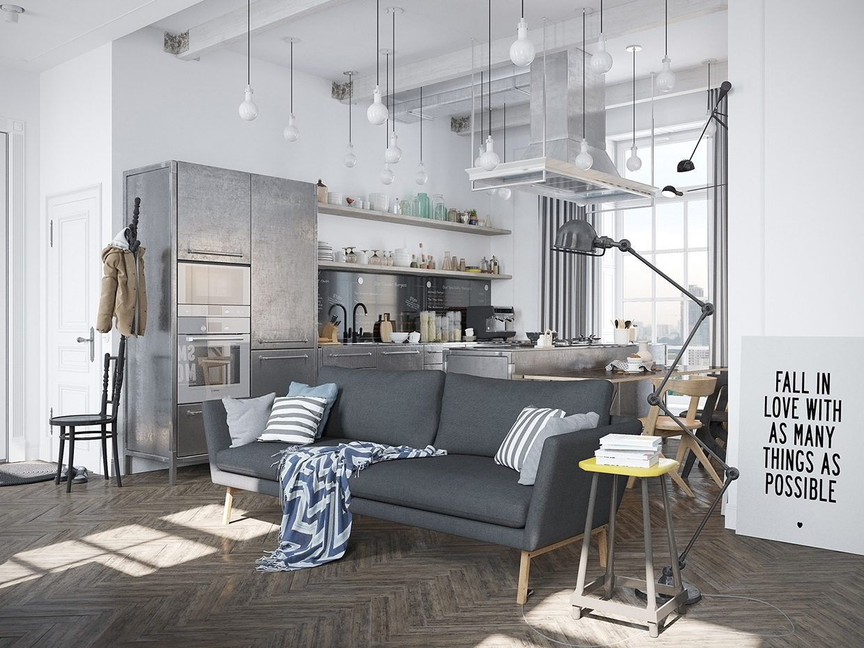 apartment-Scandinavian-style